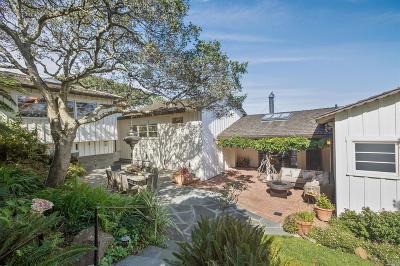 Sausalito CA Single Family Home For Sale: $4,099,000