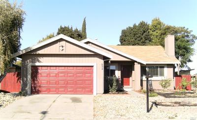 Suisun City Single Family Home For Sale: 804 Pochard Way
