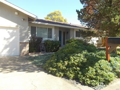 Ukiah CA Single Family Home For Sale: $449,000