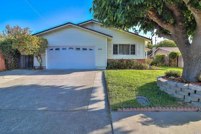 Vallejo Single Family Home For Sale: 252 Redwing Street