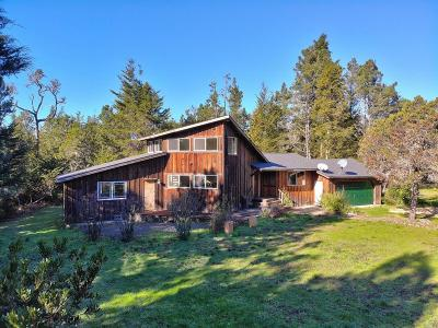Mendocino Single Family Home For Sale: 42205 Caspar Little Lake Road #Mendo