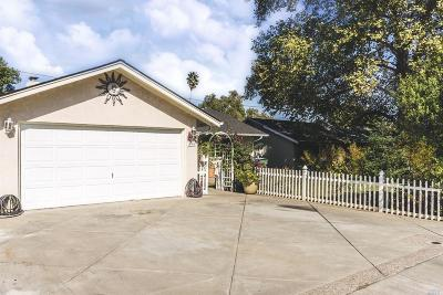 Vacaville CA Single Family Home For Sale: $384,000