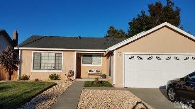 Suisun City Single Family Home For Sale: 501 Bella Vista Drive