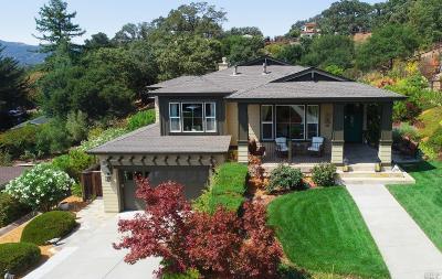 Novato Single Family Home For Sale: 5 Winding Way