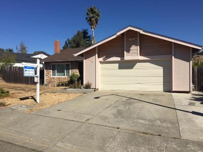 Vallejo CA Single Family Home For Sale: $419,950