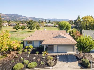 Santa Rosa Single Family Home For Sale: 439 Twin Lakes Circle
