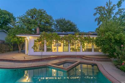 Walnut Creek Single Family Home For Sale: 227 Castle Rock Road