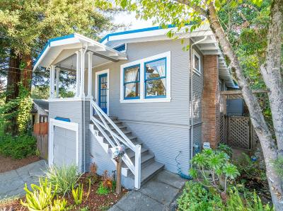 San Rafael Single Family Home Contingent-Show: 14 Hart Street