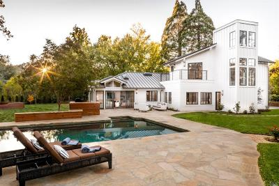 Calistoga CA Single Family Home For Sale: $3,995,000