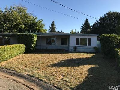 Napa County Single Family Home For Sale: 11 Burnette Court