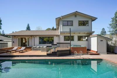 Novato Single Family Home For Sale: 15 Arbor Circle