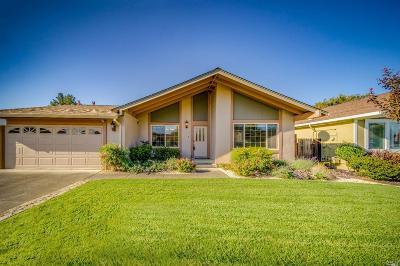 Napa CA Single Family Home For Sale: $729,000