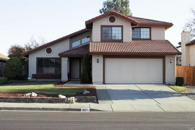 American Canyon Single Family Home For Sale: 321 Kingsly Lane