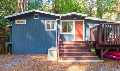 Guerneville Single Family Home For Sale: 17426 Riverside Drive