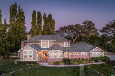 Petaluma Single Family Home For Sale: 250 Metz Lane