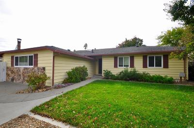 Vacaville CA Single Family Home For Sale: $425,000