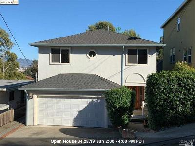 Contra Costa County Single Family Home For Sale: 425 Santa Fe Avenue