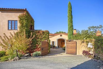 Glen Ellen Single Family Home For Sale: 8189 Sonoma Mountain Road