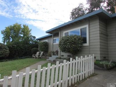 Ukiah Single Family Home For Sale: 106 Canyon Drive