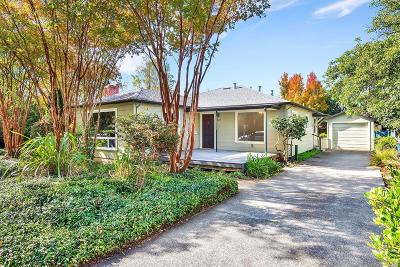 Healdsburg Single Family Home For Sale: 727 Center Street
