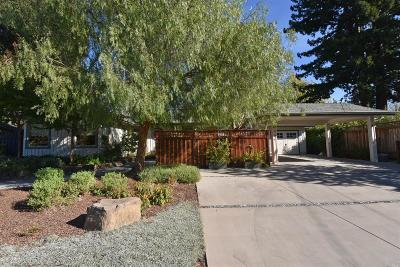 Sonoma Single Family Home For Sale: 866 Donner Avenue