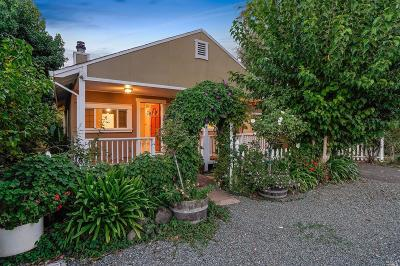 Sonoma Single Family Home For Sale: 795 Center Street