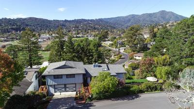 Mill Valley Single Family Home For Sale: 70 Keats Drive