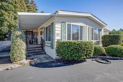 Sonoma Mobile Home For Sale: 161 Bear Flag Road #161