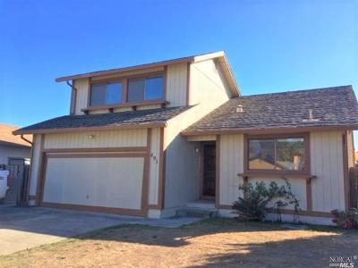 Ukiah Single Family Home For Sale: 491 Sherry Drive