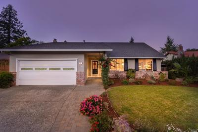 Novato Single Family Home For Sale: 21 Santa Ynez Circle