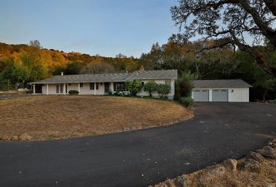 Napa Single Family Home For Sale: 1037 Shadybrook Lane