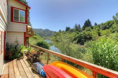 Guerneville Single Family Home For Sale: 14615 River Road