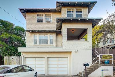 San Rafael Multi Family 2-4 For Sale: 123 Woodland Avenue