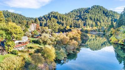 Guerneville, Monte Rio, Cazadero, Forestville Single Family Home For Sale: 20510 Hwy 116 Highway