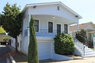 Napa Single Family Home For Sale: 611 First Street
