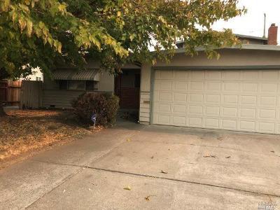 Solano County Single Family Home For Sale: 1654 Dover Avenue