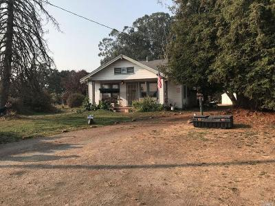 Sonoma Single Family Home For Sale: 21955 Schellville Road