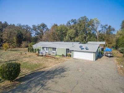 Potter Valley Single Family Home For Sale: 8600 East Side Potter Valley Road