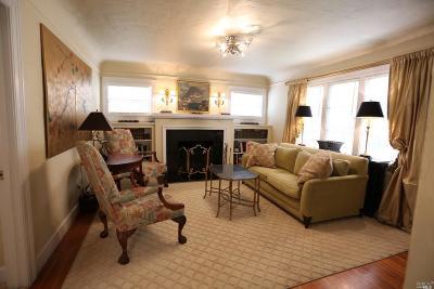 St. Helena Single Family Home For Sale: 1740 Main Street