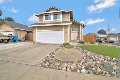 Vacaville CA Single Family Home For Sale: $459,000