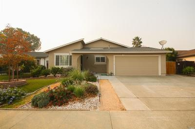 Vacaville CA Single Family Home For Sale: $474,500