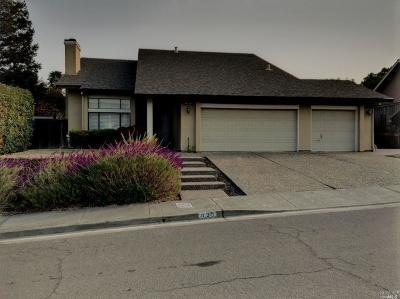 Benicia CA Single Family Home For Sale: $750,000