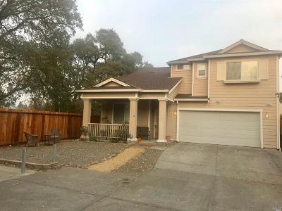 Santa Rosa CA Single Family Home For Sale: $545,000