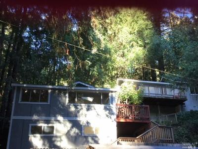 Guerneville CA Multi Family 2-4 For Sale: $435,000