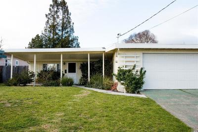Napa Single Family Home Contingent-Show: 2388 Barry Street