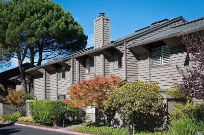 Sausalito Condo/Townhouse For Sale: 39 Willow Lane