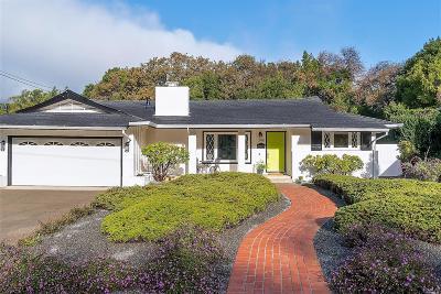 San Rafael Single Family Home Contingent-Show: 240 Elvia Court