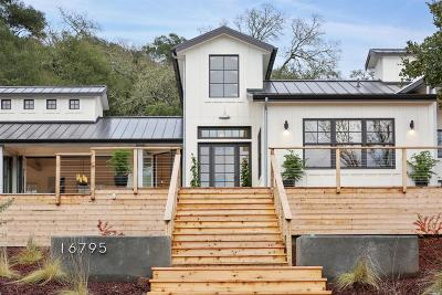 Sonoma County, Mendocino County, Napa County, Marin County, Lake County Single Family Home For Sale: 16795 Mission Way