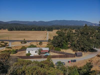 Laytonville Multi Family 2-4 For Sale: 43811 North Highway 101