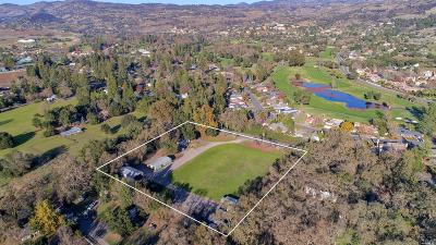 Napa County Single Family Home For Sale: 1109 Atlas Peak Road